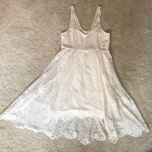 NWT free people lace ivory dress